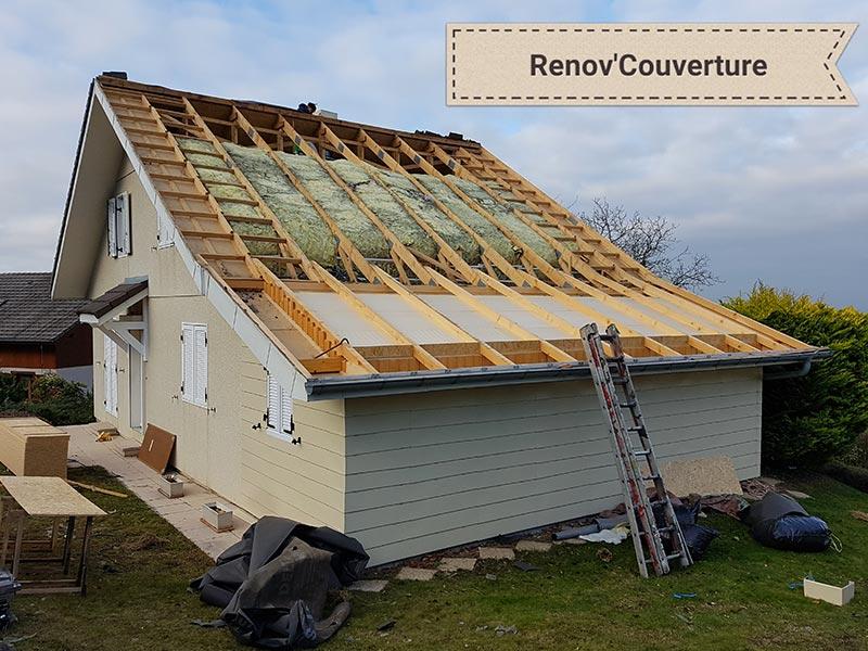 R nov couverture votre artisan couvreur archamps for Refection toiture